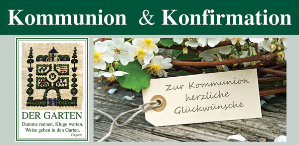 Kommunion und Konfirmation